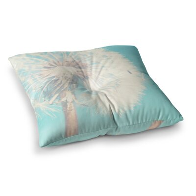 Sylvia Coomes Dandelion Photography Floral Square Floor Pillow Size: 23 x 23