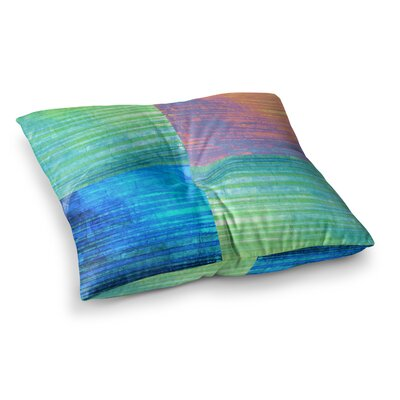 Nina May Crayon Batik Square Floor Pillow Size: 23 x 23