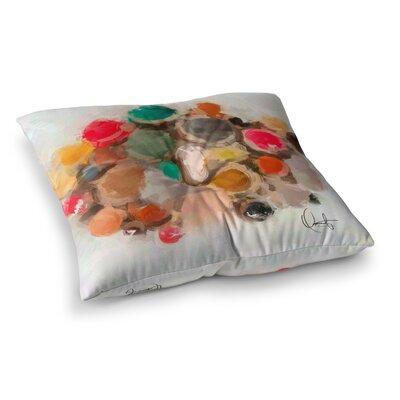Oriana Cordero La Maddalena Square Floor Pillow Size: 23 x 23