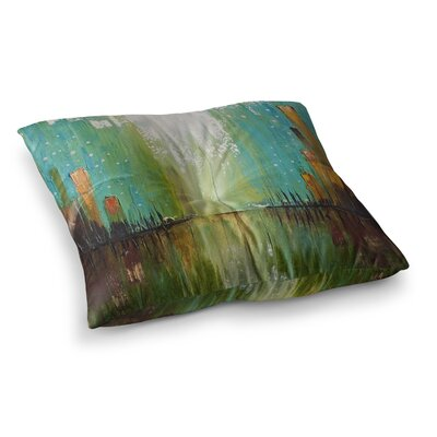 Steve Dix Twilight Imaginings Square Floor Pillow Size: 26 x 26