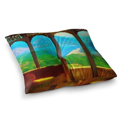 S. Seema Z Mountain Retreat Square Floor Pillow Size: 26 x 26