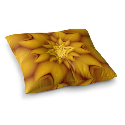 Michael Sussna Citrus Star Square Floor Pillow Size: 23 x 23