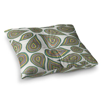 Pom Graphic Design Its Raining Leaves Square Floor Pillow Size: 23 x 23