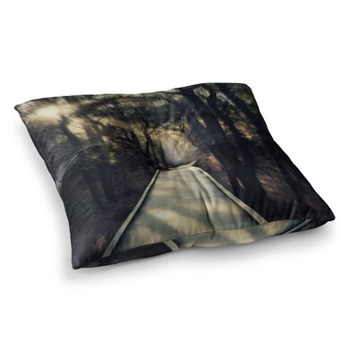 Robin Dickinson Dream Worthy Square Floor Pillow Size: 23 x 23