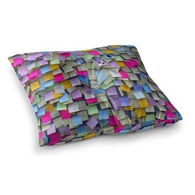 Trebam Respekt Paper Square Floor Pillow Size: 23 x 23