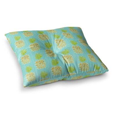Alias Mercurys Closeup Abstract Square Floor Pillow Size: 26 x 26