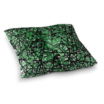 Trebam Trava V.4 Square Floor Pillow Size: 26 x 26