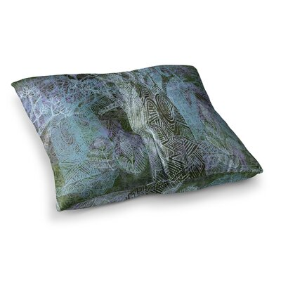 Marianna Tankelevich Wild Forest Trees Square Floor Pillow Size: 23 x 23