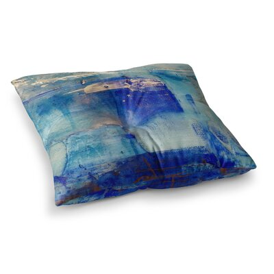 Malia Shields the 2 Painting Square Floor Pillow Size: 23 x 23
