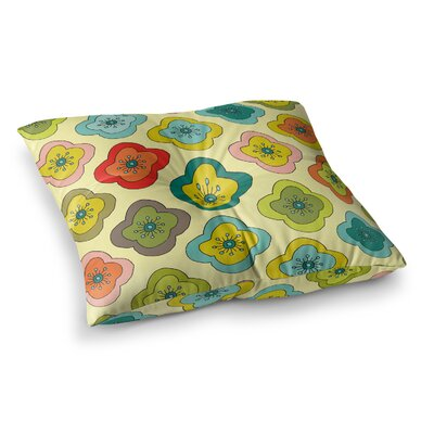 Nicole Ketchum Forest Bloom Square Floor Pillow Size: 26 x 26