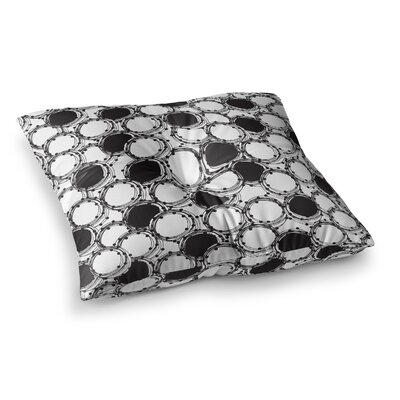Nandita Singh Beaded Bangles Square Floor Pillow Size: 23 x 23