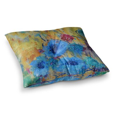 Sonal Nathwani Cosmic Love Garden Square Floor Pillow Size: 26 x 26