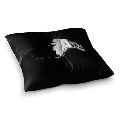 BarmalisiRTB Alaska Square Floor Pillow Size: 23 x 23