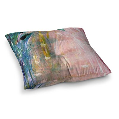 Malia Shields Journey Painting Square Floor Pillow Size: 26 x 26