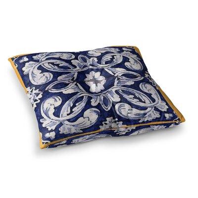 Oriana Cordero Lisboa Square Floor Pillow Size: 23 x 23