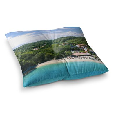 Nick Nareshni Forest on The Beach Photography Square Floor Pillow Size: 26 x 26