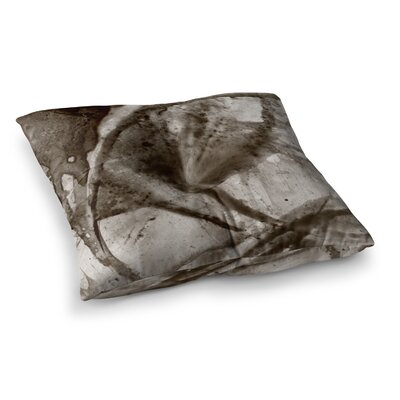 Malia Shields Universe Series BW Square Floor Pillow Size: 26 x 26