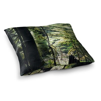 Robin Dickinson Enchanted Forest Square Floor Pillow Size: 26 x 26