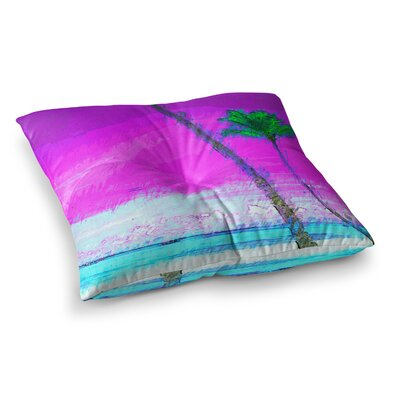 Oriana Cordero Caribe S Square Floor Pillow Size: 23 x 23