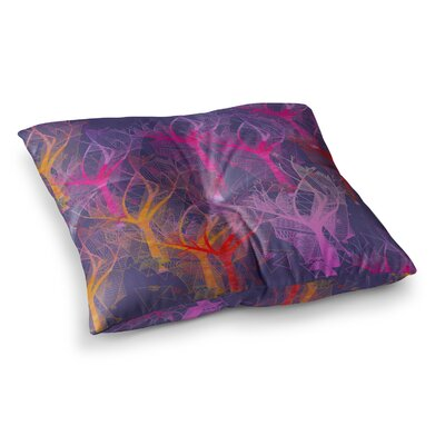 Marianna Tankelevich Trees Abstract Square Floor Pillow Size: 23 x 23