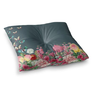 Suzanne Carter Summer Garden 2 Square Floor Pillow Size: 23 x 23