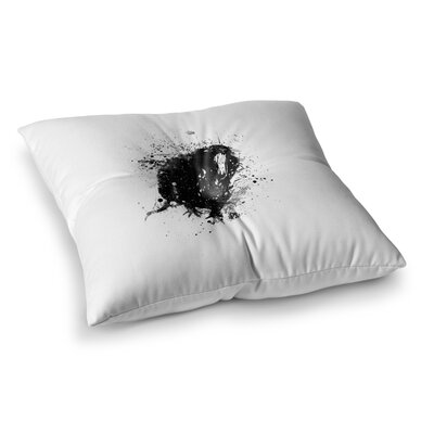 BarmalisiRTB Rat Digital Square Floor Pillow Size: 23 x 23