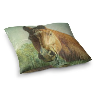 Robin Dickinson CT Square Floor Pillow Size: 23 x 23