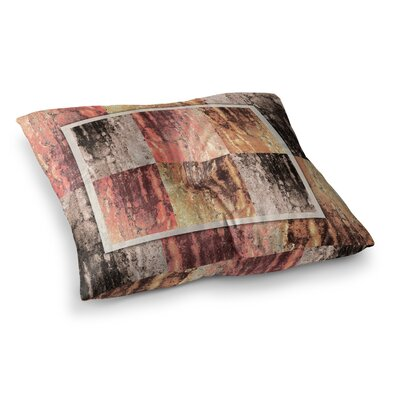 Nina May Tavertina Earth Digital Square Floor Pillow Size: 23 x 23