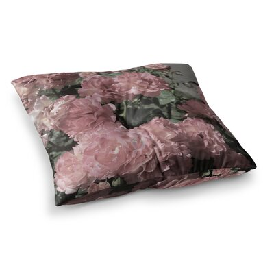 Susan Sanders Flowers Floral Photography Square Floor Pillow Size: 23 x 23