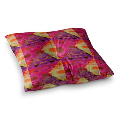 Nina May Allicamohot Square Floor Pillow Size: 26 x 26