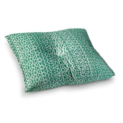 Pom Graphic Design Tribal Forrest Square Floor Pillow Size: 26 x 26
