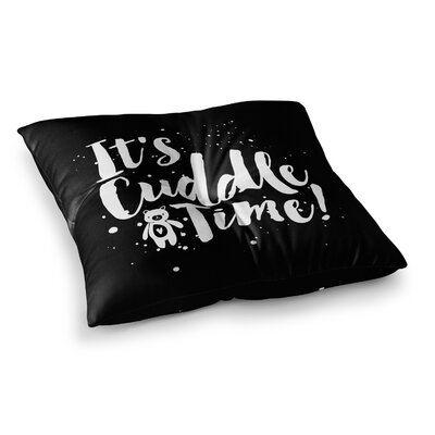 Nick Atkinson Cuddle Time Square Floor Pillow Size: 26 x 26
