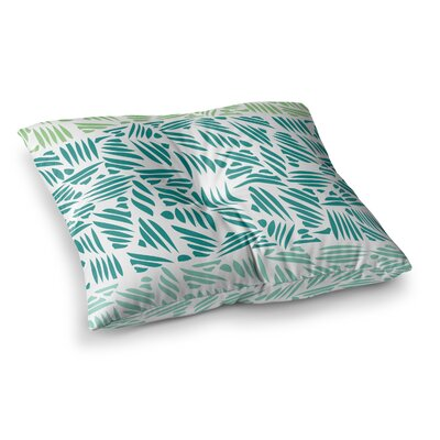 Pom Graphic Design Bamboo Square Floor Pillow Size: 26 x 26