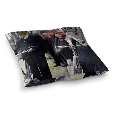 Suzanne Carter Incognito Digital Square Floor Pillow Size: 26 x 26