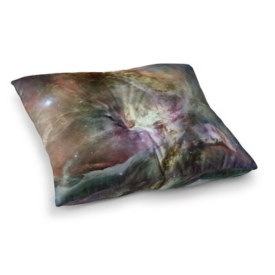 Suzanne Carter Orion Nebula Celestial Square Floor Pillow Size: 26 x 26