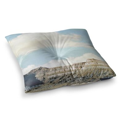 Sylvia Coomes Out West Square Floor Pillow Size: 23 x 23