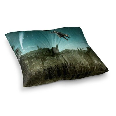 Suzanne Carter The Departure Square Floor Pillow Size: 23 x 23