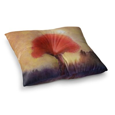 Viviana Gonzalez Tree Square Floor Pillow Size: 26 x 26