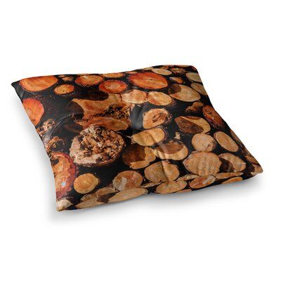 Juan Paolo The Lumber Yard Square Floor Pillow Size: 23 x 23