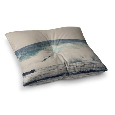 Sylvia Coomes Ocean 1 Square Floor Pillow Size: 23 x 23