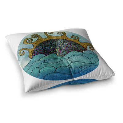 Pom Graphic Design Oceania Square Floor Pillow Size: 23 x 23