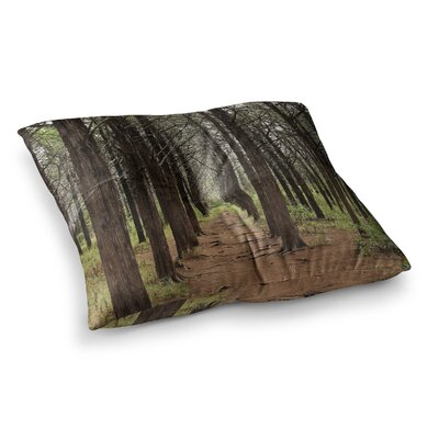 Sylvia Coomes Parallel Forest Square Floor Pillow Size: 26 x 26