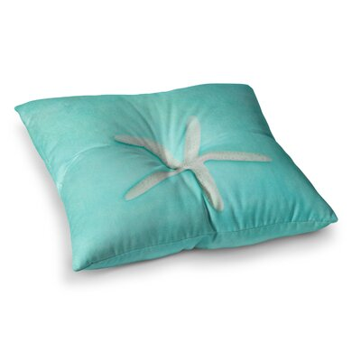 Sylvia Cook Starfish Square Floor Pillow Size: 26 x 26