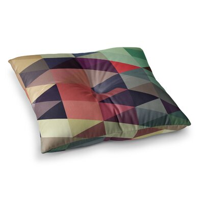 Juan Paolo Labyrinth Geometric Square Floor Pillow Size: 23 x 23