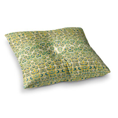 Pom Graphic Design Animal Temple Square Floor Pillow Size: 26 x 26