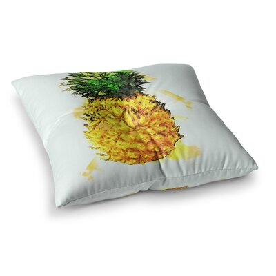 Oriana Cordero Slice of Summer Square Floor Pillow Size: 23 x 23