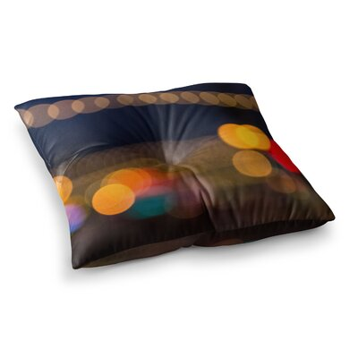 Juan Paolo Tremont Bokeh Square Floor Pillow Size: 23 x 23