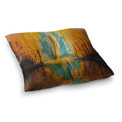 Steve Dix Inception or Birth Square Floor Pillow Size: 26 x 26
