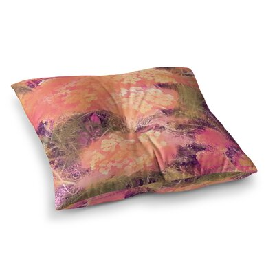 Nina May Wildflowers Square Floor Pillow Size: 26 x 26