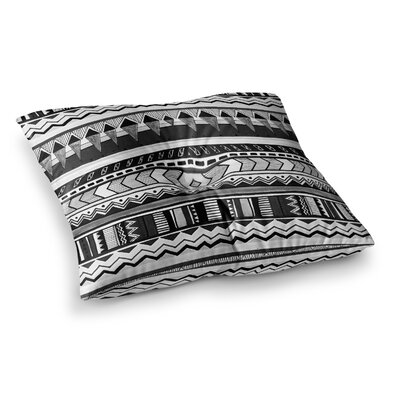 Vasare Nar Tribal Geometric Square Floor Pillow Size: 26 x 26